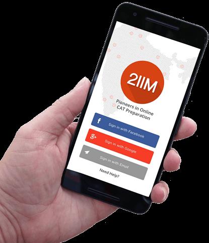 2IIM - Online CAT Coaching and Online CAT preparation for CAT 2019